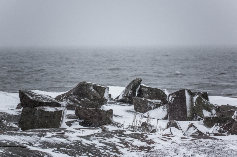 FIlm production locations in Finland, archipelago in winter by Tommi Hynynen.